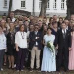Gruppenfoto, Hochzeitsgesellschaft