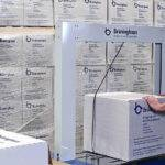 Verpackungsabteilung, Verpackungsmaschine